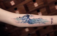 #tattoofriday - tatuagens aquareladas de Chen Jie, New Tattoo;
