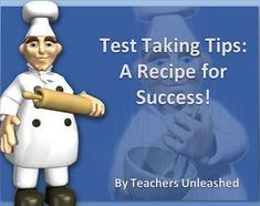 #FreebieFriday ~ Test Taking Tips: A Recipe for Success! #TPT #Free
