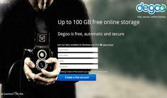 Degoo es otra plataforma de almacenamiento online que nos regala 100 Gb de espacio para almacenar y sincronizar nuestros archivos en la nube.