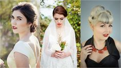 Vintage Bridal Hair & Make Up Tips {1920s to1950s}