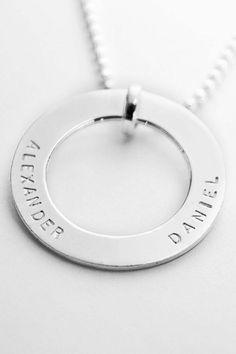 Koolaman Designs hand stamped pendant.... On my christmas list!