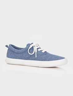 Maddie Chambray Sneakers