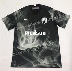 6af0349db01 Limited Edition 2018-19 Atlético Madrid Black Thailand Soccer Jersey AAA-701