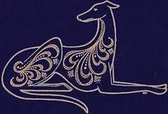 Greyhound tattoo idea