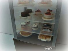DIY fake food and furniture - cafè cake's counter ☕🍰