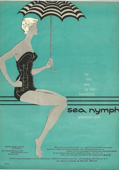 vintage swimsuit ad...