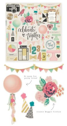 """Ready to celebrate with me? I am super excited to show you my newest collection for Crate Paper >> Confetti!!Confetti is an everyday collection mixed with party elements that will give your projects the """"life of the party"""" look! Whether you are working on a specific celebration such as a…"""