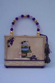 The Winery Cigar Box Purse