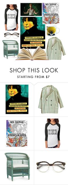 """""""Readers are Leaders"""" by perunica ❤ liked on Polyvore featuring interior, interiors, interior design, home, home decor, interior decorating, Orla Kiely, etsy and poster"""