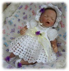 Crochet Pattern 6 DRESS SET for 10 inch to 12 inch by zeepazoo Crochet Barbie Patterns, Crochet Doll Pattern, Afghan Crochet Patterns, Crochet Dolls, Doll Patterns, Baby Doll Clothes, Crochet Doll Clothes, Baby Patchwork Quilt, Newborn Baby Dolls