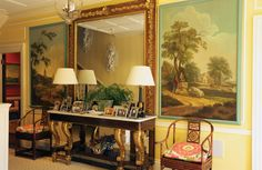 12 Photos that Prove Newport is the Epitome of Old School American Elegance - 12 Photos that Prove Newport is the Epitome of Old School American Elegance- TownandCountrymag… - Newport House, City By The Sea, English Country Decor, Entry Hallway, Entrance Hall, English Style, House Tours, Old School, Luxury Homes