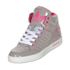adidas Hardcourt Hi Women's Casual Shoes ($75) found on Polyvore