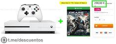 XBOX One S 1TB  Gears Of War 4 por 298 - http://ift.tt/2kqP9lU