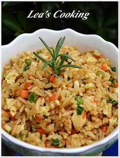 Lea's Cooking: Better Than Takeout Chicken Fried Rice
