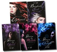 Divine Series by PC Cast I don't have these covers but I LOVE these books