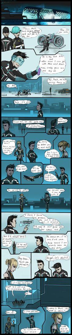 Tron: Uprising II Season_page#3 by Kasimova.deviantart.com on @deviantART