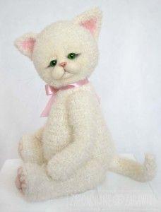 szydełkowany kot