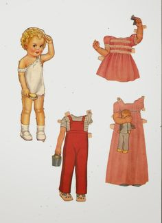 Miss Missy Paper Dolls: Queen Holden All Size Dolls