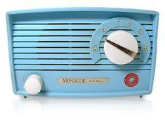 Vintage Turquoise Moncor Hi Fi Master Tube Radio - Circa Radios, Mid Century Art, Mid Century Design, H Master, Retro Vintage, Vintage Items, Antique Radio, Transistor Radio, Book Sculpture