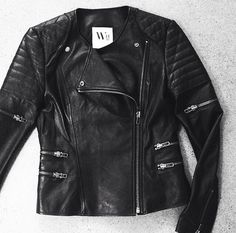 | WEST 14TH | Greenwich Street Leather Jacket $895 | A classic leather Jacket available in store |