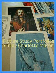 Picture Study Portfolios from Simply Charlotte Mason – Review