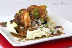 Křehké kuře na pálivém zelí Meat, Chicken, Food, Essen, Meals, Yemek, Eten, Cubs