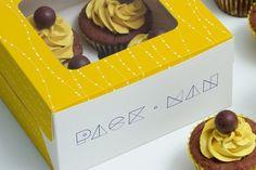 Free Cupcake box mockup | Pixlov