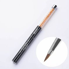 1PC Acrylic Carving Painting Brush Crystal Rhinestone Handle Nail Art Tools *** This is an Amazon Affiliate link. Learn more by visiting the image link. Nail Brushes, Nail Art Tools, Crystal Rhinestone, Image Link, Carving, Handle, Amazon, Crystals, Nails