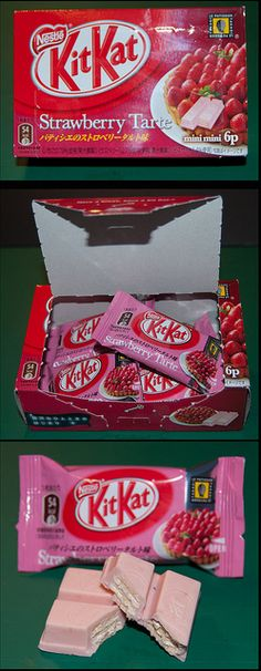 Strawberry Tarte Kit Kat