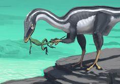 Simon Stålenhag Art Gallery - Compsognathus