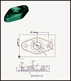 Starlet's CAD Drawing Exercise Blog: 3D CAD Exercises - Part design 2