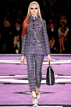 Fall 2012 Trend Reports, Printed Outfits, Prada