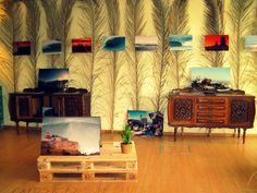 "Surf Leça_Art Gallery_Leça da Palmeira_Portugal. ""Surf Spots"" exhibition by Tó Mané. Follow us on facebook: Galeria Surf Leça. 2014 Photo by Filipa Costa Please do not remove artist´s name. Copyright."