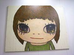Artwork by 奈良美智 なら よしとも Nara Yoshitomo   출처: Bubi Au Yeung