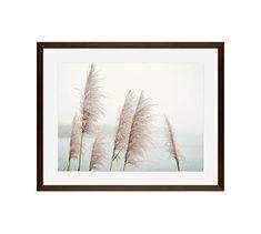 "Wild Pampas by Lupen Grainne, 20 x 16"", Wood Gallery Frame, Espresso, Mat"