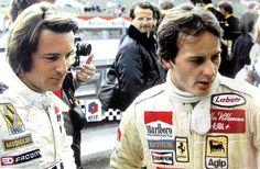 rene arnoux 1979 | Gilles Villeneuve a su mujer Joann antes de cada carrera