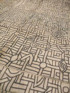// Africa, Kuba Raffia Cloth