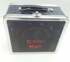 Bloody Mary Case/Tin - Secrets of a Hollywood Makeup Artist - used for makeup. Tin Theatrical Makeup Beauty Box - Cosmetic Case. Case is empty. (no major problems with the case). A cool case to tote around your belongings! | eBay!
