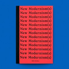 Back in stock! New Modernism(s) / Available at www.draw-down.com / In 1972 Robert Venturi Denise Scott Brown and Steven Izenour released a book called Learning From Las Vegas a manifesto of sorts calling for the glorification or ornamentation and vernacular form in architecture. Perhaps more importantly this book signaled a cultural change a change in the architectural space in which the term postmodernism was coined. Fast forward to today. Now we are living primarily in the digital space a…