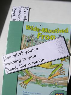 Guided reading reminder slips for take home readers.