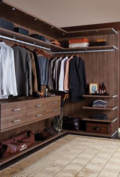 California Closets DFW - Some design ideas and inspiration from our New England Franchise Wardrobe Design Bedroom, Master Bedroom Closet, Bedroom Wardrobe, Wardrobe Closet, California Closets, Dressing Room Closet, Dressing Room Design, Walk In Closet Design, Closet Designs
