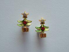 Oorstekers met kerstboom « Catalog Products « shop « Bonbijou | webshop antieke sieraden