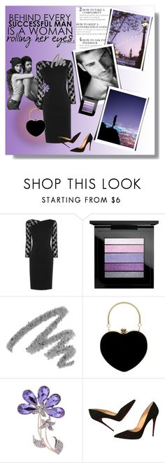 """""""Stay Strong"""" by molly2222 ❤ liked on Polyvore featuring Karen Millen, MAC Cosmetics, Yves Saint Laurent and Christian Louboutin"""