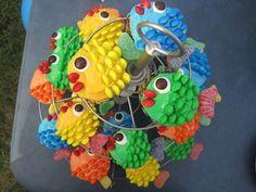 Fish Cupcakes Ideas Easy Video Tutorial