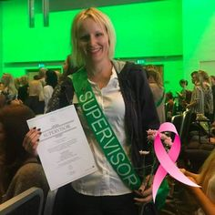 Last fall at Forever Success Days in Oslo when I finally received my Supervisor diploma!