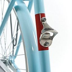 Drink n Bike ? State-Bicycle-Co-Bike-Mounted-Bottle-Opener … Tandem, Bullitt Bike, Pimp Your Bike, Bici Fixed, Road Bike Accessories, Folding Mountain Bike, Bike Folding, Velo Retro, Range Velo