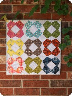 mini quilt by bebo821, via Flickr
