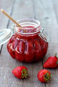 Strawberry Chia Seed Jam - Dish by Dish