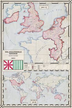 The Anglothieran Kingdom in 1900 (Alt. history) by ZalringDA
