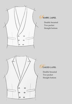 Bespoke suiting - lapels